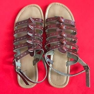 Beautifully detailed sandals